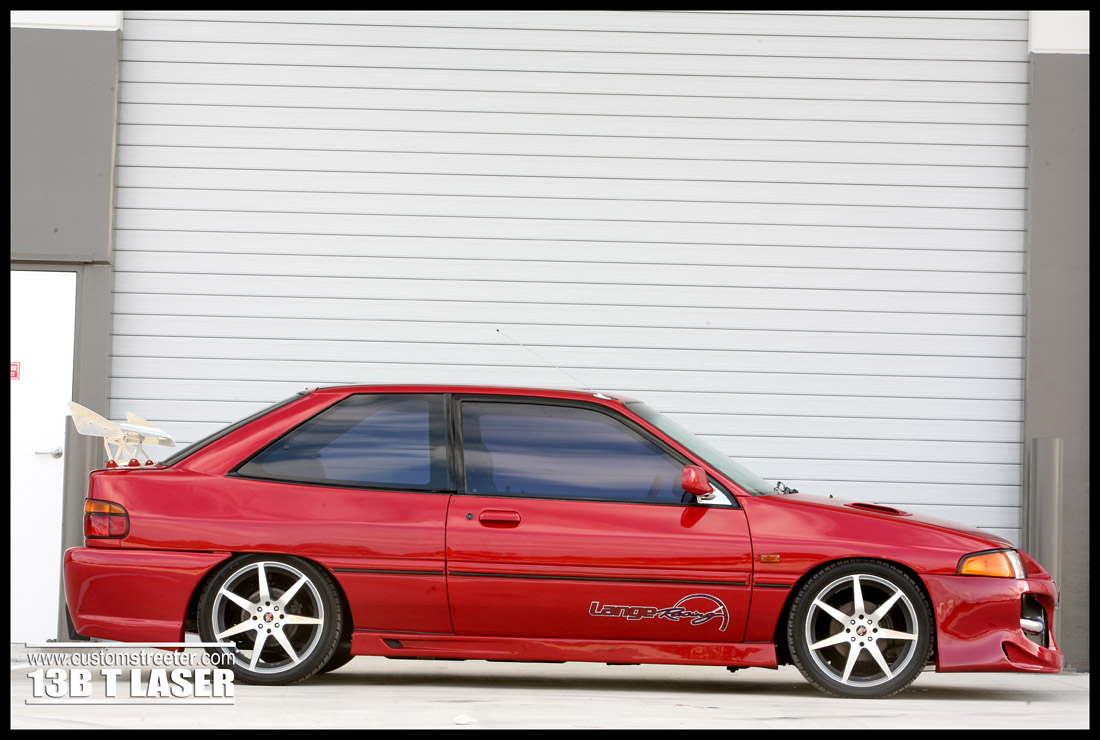 Rotary powered ford laser