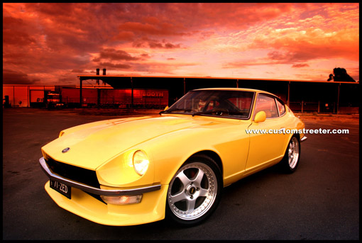 Turbo Charged Datsun Nissan 240Z