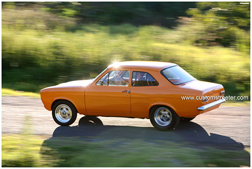 Old School British fun performance mixed with high tech Japanese Nissan turbo engine for the street plus a purpose built Pinto powered drag car. Ford Mk1 Escort