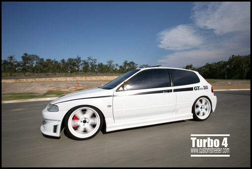 Turbo Honda Civic - car