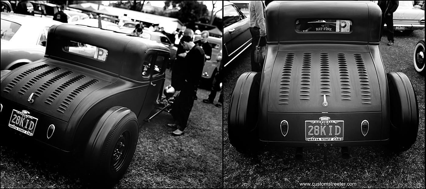 Brunswick Heads NSW, Australia host the Back to Bruns Hot Rod show. Hot Rods, American and Australian vintage Muscle and other Customs
