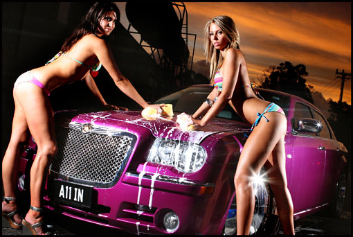 Bikini Girl Car Wash