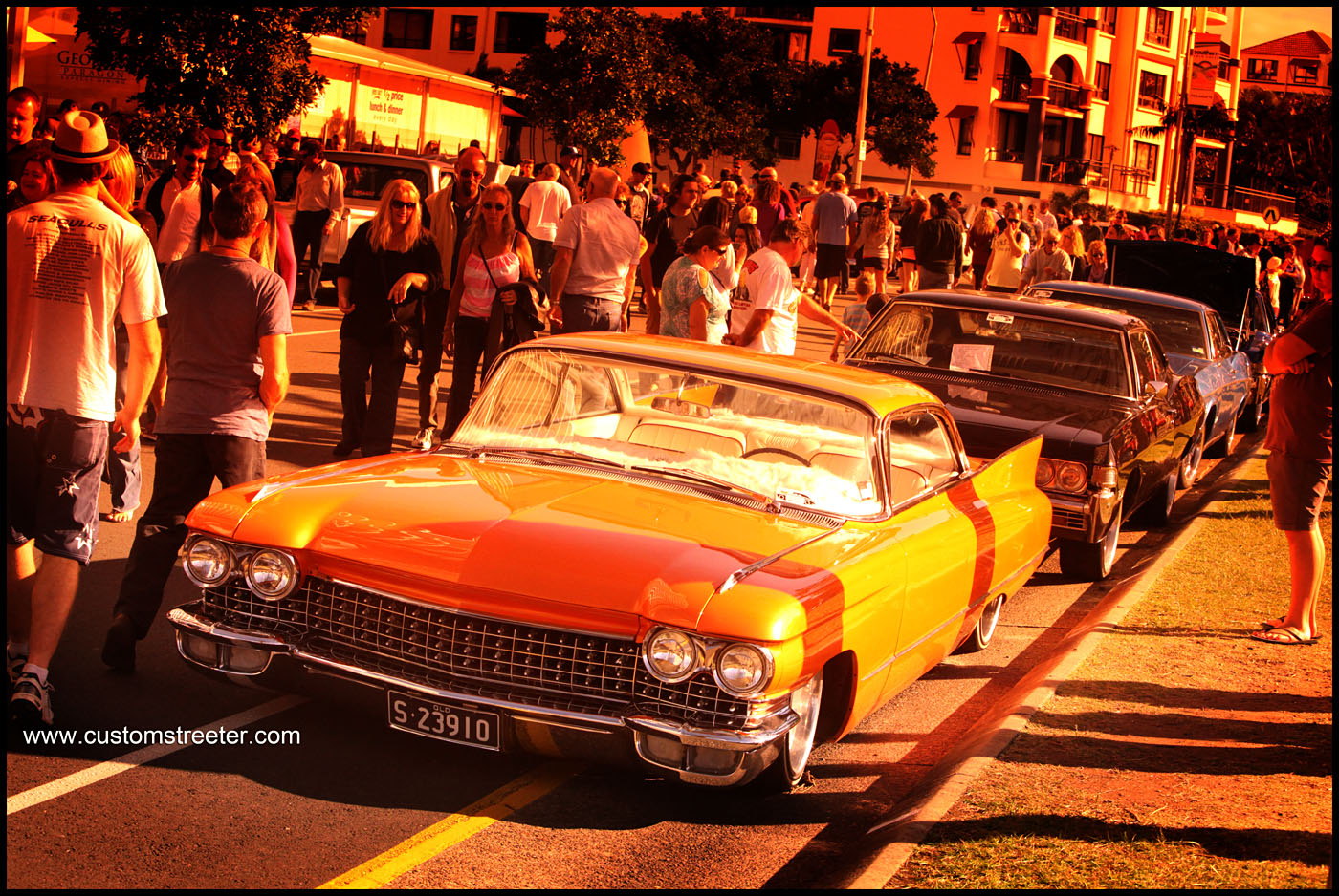 Cooly Rocks On, Gold Coast Australia Hot Rod show - Cadilac