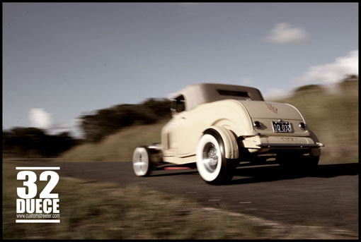 32 Duece Roadster FORD FOMOCO Detroit