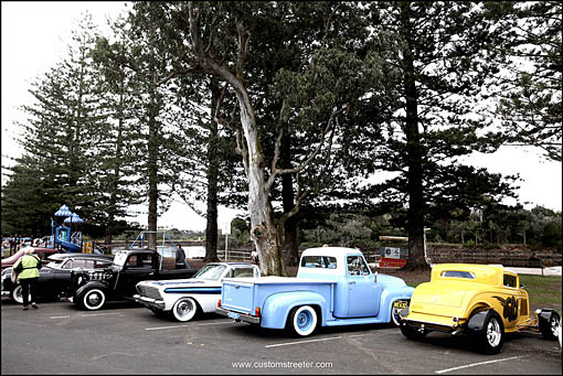 back to Bruns - Brunswick Heads annual Hot rod show - NSW Australia - V8 custom Hot Rods